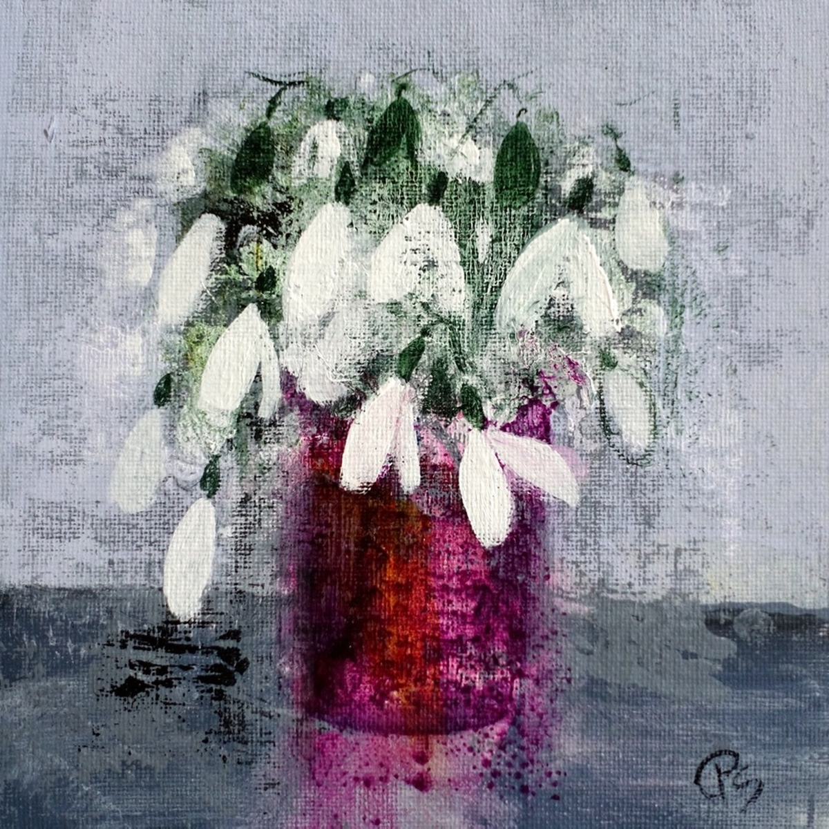 Snowdrops in Lindean Glass