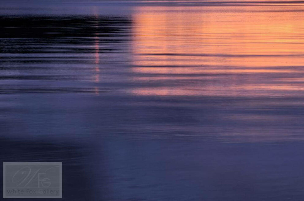 Sunset on Inverie Bay