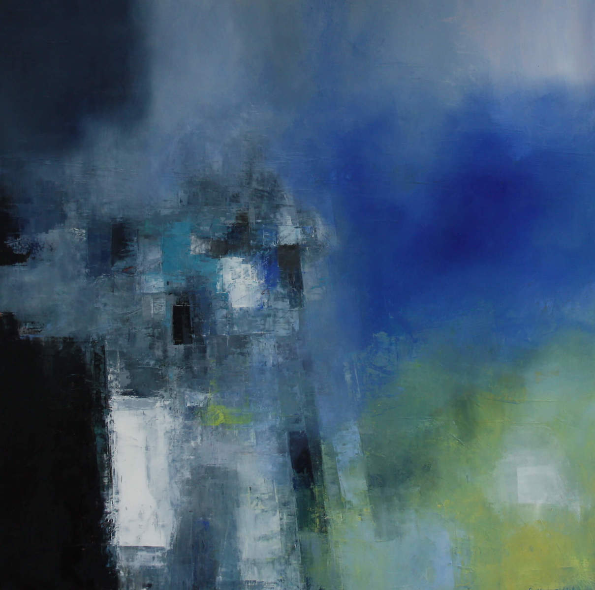 Shadow and Form, diptych (2); by Siobhan O'Hehir